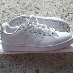 adidas Shoes - Adidas Cloudfoam White Sneakers